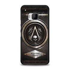 Assassins Creed Black Flag logo HTC One M9 Case | yukitacase.com