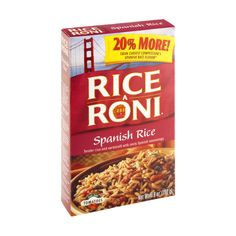 I'm learning all about Rice-A-Roni Spanish Rice at @Influenster!
