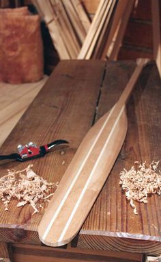 The paddle has a deep and rich history in Canada. Woodworking Plans, Woodworking Projects, Workbench Plans, Oar Decor, Canoe And Kayak, Canoe Paddles, Wooden Boat Plans, Wooden Boats, Wooden Paddle