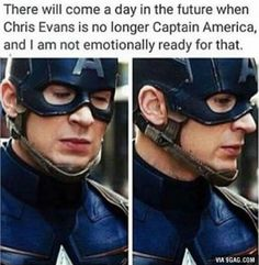 Not just Chris Evans, this applies to all marvel cast especially Robert Downey Jr