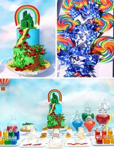 Wizard of Oz Party with Lots of Really Cute Ideas via Kara's Party Ideas | KarasPartyIdeas #WizardOfOzParty #PartyIdeas #Supplies