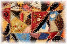 crazy quilt 1860