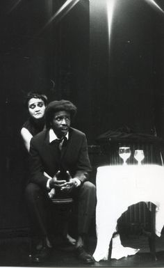 The Internationalist Theatre London premiere of Griselda Gambaro`s THE CAMP | Angelique Rockas as the dehumanized tortured pianist Emma , and Roy Lee the Clerk. https://www.flickr.com/photos/internationalist_theatre_rockas/albums/72157628011069680  https://en.wikipedia.org/wiki/Internationalist_Theatre https://flic.kr/p/axYe6d