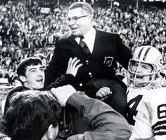 """""""Leaders aren't born they are made. And they are made just like anything else, through hard work. And that's the price we'll have to pay to achieve that goal, or any goal.""""    Vince Lombardi"""