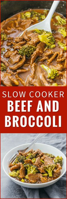 Check out the slow cooker version of my popular beef and broccoli recipe. Easier to make healthier and tastes way better than takeout. crock pot easy stir fry keto healthy recipe pioneer woman slow cooker paleo chinese sauce noodles via Savory Tooth Crock Pot Slow Cooker, Crock Pot Cooking, Cooking Tips, Stir Fry Crock Pot, Easy Stir Fry, Crock Pot Gumbo, Crock Pot Beef, Cooking Lamb, Cooking Classes