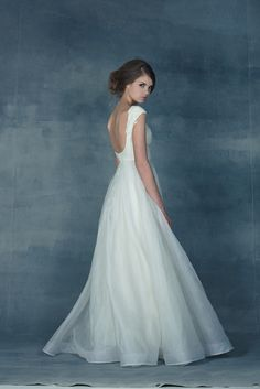 I love the back and shoulders. elope yu Capulet We Love Yu! Love yu Bridal  wedding dresses inspiration found and beautiful