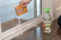21 Genius Household Cleaning Tips That'll Make Martha Stewart Jealous - When is the last time you your window tracks? You can clean it easily with baking soda and vinegar.