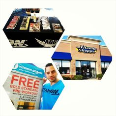 There are some amazing deals and sweepstakes going at #VitaminShoppe this month on #OptimumNutrition product.  Buy one 5lb tub of Gold Standard whey and get a free full size tub of Gold Standard pre workout.  Also take 25% off of select ON product throughout the store.  Come in to 1496 S. Randall in Algonquin where I'll be sampling until 2.  #12daysofgiveaways #truestrength by mikey_physique