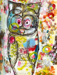 Every Life Has a Story! - {Roben-Marie Smith} - Art Journal Love -Whoot...