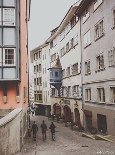 Zürich, une ville à manger des yeux