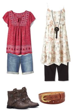 """""""Beverly Marsh IT 2017"""" by seetherfan17 on Polyvore featuring Gap, FOSSIL, Miss Selfridge and The Giving Keys"""