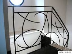 rambarde fer forgé - Recherche Google Staircase Railings, Deck Railings, Stairways, Metal Garden Gates, Balustrades, Iron Work, Wrought Iron, Home Remodeling, Pergola