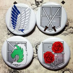 Hey, I found this really awesome Etsy listing at https://www.etsy.com/listing/168194303/anime-mange-attack-on-titan-4-pinback