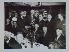 Richmond best and fairest dinner 1930s...possibly Maurie Hunter 1933 winner??