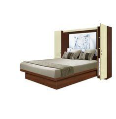 Adalina Pier Wall Bedroom - 4 Interior Drawers Each Side