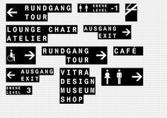 vitra museum signage - Buscar con Google