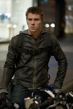 Tron Legacy: Sam Flynn Garrett Hedlund, Tron Legacy, Star Wars, Attractive Men, Leather Men, Leather Jackets, Black Leather, Motorcycle Jacket, Moto Jacket