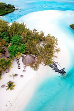 Sun seekers will love this picturesque beach with unbelievable blue-and-white swirling shallows.Île aux Cerfsis an exclusive locale in Mauritius, a former French island that sits off the...