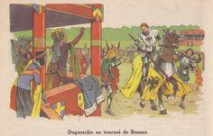 Du Guesclin au tournoi de Rennes