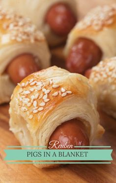 'The Chew' co-host Clinton Kelly visited Rachael Ray and Trisha Yearwood in the kitchen with a fun appetizer idea for Reuben Pigs in a Blanket. http://www.recapo.com/rachael-ray-show/rachael-ray-recipes/rachael-ray-clinton-kelly-reuben-pigs-blanket-recipe/