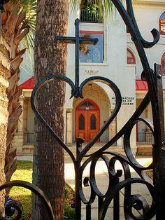 Heart Gate, St. Augustine, FL
