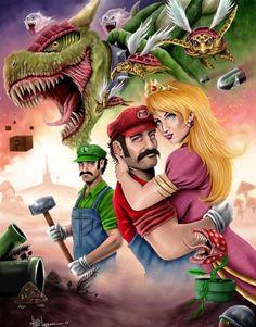 Mario Art !!
