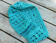 Free Crochet Pattern: Cube Infinity Scarf- Grow Creative