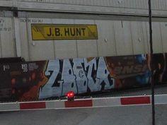 YEAH TRAIN GRAFFITI WOO