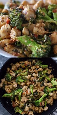 Cheesy garlic chicken bites cooked in one pan with broccoli and spinach in under 15 minutes. This quick tasty dish is a great keto option and can be served with zoodles or pasta! food recipes videos 15 Minute Keto Garlic Chicken with Broccoli and Spinach Healthy Chicken Recipes, Healthy Cooking, Healthy Dinner Recipes, Low Carb Recipes, Diet Recipes, Cooking Recipes, Healthy Meals, Amish Recipes, Dutch Recipes