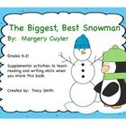 Here is a packet to use when you read The Biggest, Best Snowman!  Grades K-2  This packet includes: 1.  Retelling - beginning, middle, and end char...