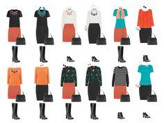Как составить капсульный гардероб. Часть 8. Юбки и сапоги:Идеальный гардероб