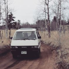 VIDEO: Guiding the van down back roads gives us the same adrenaline rush as mountain biking single track. But when we post up in a remote spot, it's always worth every bump in the road.