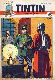 Le Journal de Tintin - Edition Belge - N° 82 - 1948-16 - Jeudi 15 Avril 1948 - Couverture : Edgar P. Jacobs