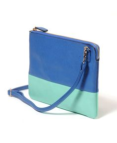 New cross body purse I am obsessed with - Street Level Colorblock Pouch Purse
