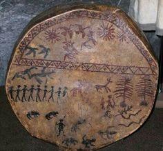 Shamen's drum Siberia
