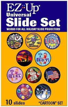 Holiday Projector Variety Slide Set # 2