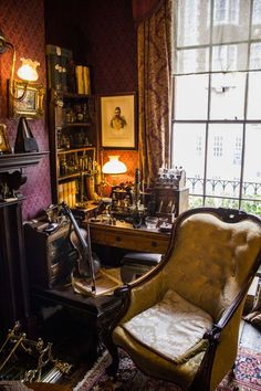 Sherlock Holmes Museum at 221b Baker Street, London, England  (I went into the gift shop since that was all I had time for, but just being there was fantastic.)