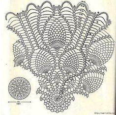 Ananas duk 2b - mönster
