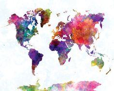 Mapas Mundi Posters na AllPosters.com.br