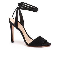 Ellie Ankle Tie High Heeled Sandal