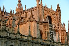 cathedral in seville, spain by erika colbertaldo
