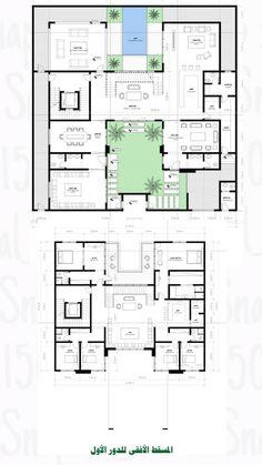 House Layout Plans, Family House Plans, House Layouts, Home Design Floor Plans, Plan Design, House Floor Plans, House Structure Design, House Design, Architectural Floor Plans