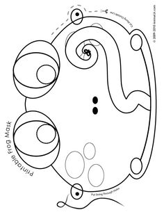 Printable Animal Masks Frog Mask Coloring Page Craft Jr