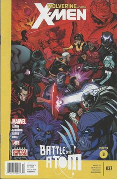 Marvel Wolverine and the X-Men comic issue 37