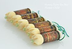 Honey from the Bee Artisan Jewelry inspired by Nature and Romance ...