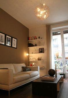 soluciones para pequeños espacios - decorar un apartamento pequeño  - En el distrito 9 de Paris, segundo piso, en un edificio estilo Haussman, Gérladine, une trentaitona activa, ha invertido en un piso de 32m². El piso está...