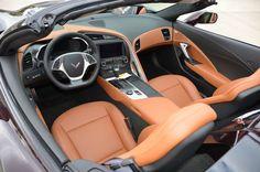 2017 Corvette Grand Sport - Black Rose Metallic and Kalahari interior - Corvette Gallery