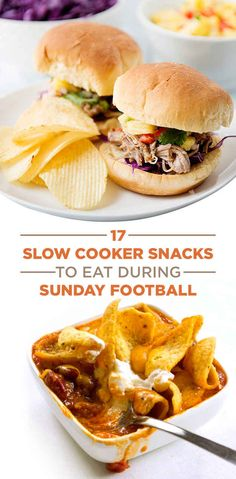 17 Easy Slow Cooker Snacks To Eat While You Watch Sunday Football