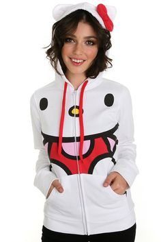 Hello Kitty sweater which is too cute!