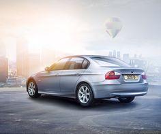 BMW automotive photography and retouching